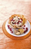 Aromatic Chestnut Mousse in Crispy Waffles